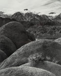 Photographs:Gelatin Silver, Richard Haley (American, 20th Century). View from Movie Road, Owens Valley, 1984. Gelatin silver. 19-1/4 x 15-1/4 inches...