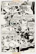Original Comic Art:Panel Pages, Ernesto Patricio Time Warp #4 Story Page 4 Original Art (DC,1980)....