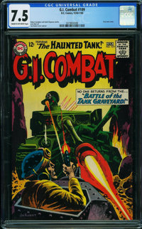 G.I. Combat #109 (Quality, 1965) CGC VF- 7.5 CREAM TO OFF-WHITE pages