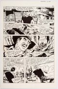 Original Comic Art:Panel Pages, Jim Aparo The Phantom #33 Story Page 5 Original Art(Charlton, 1969)....