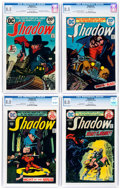 Bronze Age (1970-1979):Miscellaneous, The Shadow CGC-Graded Group of 4 (DC, 1973-75).... (Total: 4 ComicBooks)