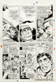 Dick Ayers and John Tartaglione Sgt. Fury and His Howling Commandos #40 Page 8 Original Art (Marvel, 1967)