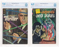 Silver Age (1956-1969):Mystery, Boris Karloff Thriller #1/Grimm's Ghost Stories #1 CBCS-GradedGroup (Gold Key, 1962-72).... (Total: 2 Comic Books)