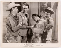 The Lone Ranger and the Lost City of Gold Related Script and Photo Group (United Artists, 1958).... (Total: 3 Items)