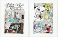Original Comic Art:Complete Story, Dame Darcy Meat Cake Complete 10-Page Story Color Production Art (Fantagraphics, 1993-2006).... (Total: 10 Original Art)