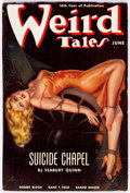 Pulps:Horror, Weird Tales - August 1938 (Popular Fiction) Condition: VG/FN....