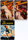 Pulps:Western, The Lone Ranger Group of 3 (Trojan/Grosset & Dunlap, 1937-38).... (Total: 3 Items)
