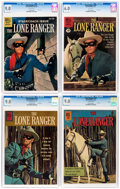 Silver Age (1956-1969):Western, Lone Ranger Group of 4 (Dell, 1959-62) CGC VF/NM 9.0 except asnoted.... (Total: 4 Comic Books)
