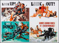 "Movie Posters:James Bond, Thunderball (1990s). Reproduction British Quad (31"" X 42""). JamesBond.. ..."