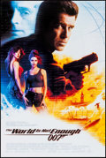 """Movie Posters:James Bond, The World is Not Enough & Other (MGM, 1999). Rolled, VeryFine+. One Sheet (27"""" X 40"""") SS & Canadian Video Poster (27..."""