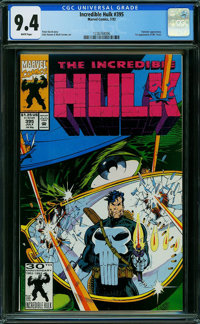 The Incredible Hulk #395 (Marvel) CGC NM 9.4 WHITE pages