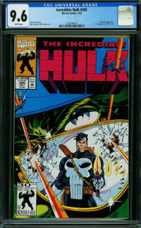 The Incredible Hulk #395 (Marvel) CGC NM+ 9.6 WHITE pages