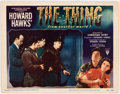 Memorabilia:Poster, The Thing From Another World Lobby Card (RKO, 1951)....