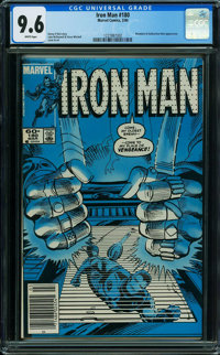 Iron Man #180 (Marvel, 1984) CGC NM+ 9.6 WHITE pages