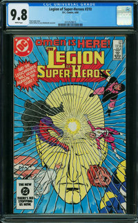 Legion of Super-Heroes #310 (DC, 1984) CGC NM/MT 9.8 WHITE pages