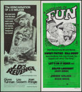 "Movie Posters:Blaxploitation, J.D.'s Revenge & Other Lot (American International, 1976). Australian Daybills (2) (13"" X 30""). Blaxploitation.. ... (Total: 2 Items)"