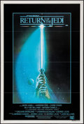 """Movie Posters:Science Fiction, Return of the Jedi (20th Century Fox, 1983). Australian One Sheet (27"""" X 40"""") Style A. Science Fiction.. ..."""