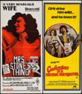 """Movie Posters:Sexploitation, Mrs. Stone's Thing & Other Lot (Mutual, 1970). AustralianDaybill (13.25"""" X 29.75"""") & Trimmed Australian Daybill 12.25"""" X30... (Total: 2 Items)"""