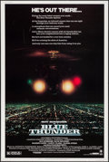 "Movie Posters:Action, Blue Thunder (Columbia, 1983). Poster (40"" X 60""). Action.. ..."
