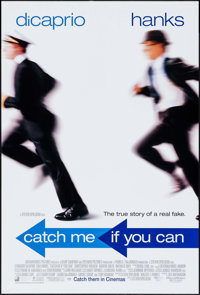 """Catch Me If You Can & Others Lot (DreamWorks, 2002). One Sheets (3) (27"""" X 40"""") DS Advance. Crime. ... (To..."""