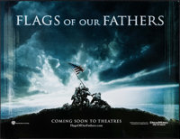 "Flags of Our Fathers (Warner Brothers, 2006). Poster (40"" X 60"") Teaser. War"