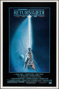 """Movie Posters:Science Fiction, Return of the Jedi (20th Century Fox, 1983). Poster (40"""" X 60"""") Style A. Science Fiction.. ..."""