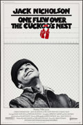 "Movie Posters:Academy Award Winners, One Flew Over the Cuckoo's Nest (United Artists, 1975). Poster (40""X 60""). Academy Award Winners.. ..."