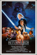 "Movie Posters:Science Fiction, Return of the Jedi (20th Century Fox, 1983). Poster (40"" X 60"")Style B. Science Fiction.. ..."