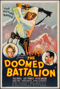"""Movie Posters:War, The Doomed Battalion (Universal, 1932). One Sheet (27"""" X 40.5"""").War.. ..."""