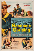 "Movie Posters:Adventure, Seminole Uprising (Columbia, 1955). One Sheet (27"" X 41"").Adventure.. ..."