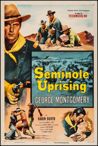 "Seminole Uprising (Columbia, 1955). One Sheet (27"" X 41""). Adventure"