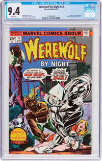 Werewolf by Night #32 (Marvel, 1975) CGC NM 9.4 White pages