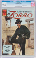 Silver Age (1956-1969):Western, Zorro #14 File Copy (Dell, 1961) CGC NM+ 9.6 Off-white to whitepages....