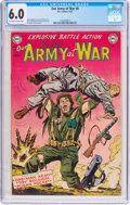 Golden Age (1938-1955):War, Our Army at War #8 (DC, 1953) CGC FN 6.0 Off-white to whitepages....