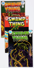 Bronze Age (1970-1979):Horror, Swamp Thing Group of 12 (DC, 1973-76) Condition: Average FN/VF....(Total: 12 Comic Books)