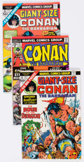 Bronze Age (1970-1979):Adventure, Conan the Barbarian Group of 33 (Marvel, 1974-81) Condition: Average FN/VF.... (Total: 33 Comic Books)