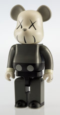 General Americana, KAWS (b. 1974). Companion BE@RBRICK 400%, 2002. Painted castvinyl. 10-3/4 x 5 x 3 inches (27.3 x 12.7 x 7.6 cm). Stampe...