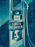 Fine Art - Work on Paper:Print, Shepard Fairey (b. 1970). Danger No Smoking, 2016.Screenprint in colors on paper. 24 x 18 inches (61.0 x 45.7 cm)(shee...
