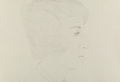 Fine Art - Work on Paper:Print, Alex Katz (b. 1927). Profile of Vincent, 1974. Drypoint onwove paper. 15-1/8 x 22-1/4 inches (38.4 x 56.5 cm) (sheet). ...