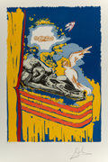 Fine Art - Work on Paper:Print, Salvador Dalí (1904-1989). The Immaculate Conception, 1979.Lithograph in colors on Arches paper. 23 x 16 inches (58.4 x...