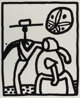 Keith Haring (1958-1990) Untitled, 1989 Silkscreen on Rives BFK paper 30 x 22 inches (76.2 x 55.9 cm) (sheet) Ed. 34