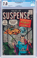 Silver Age (1956-1969):Science Fiction, Tales of Suspense #2 (Marvel, 1959) CGC FN/VF 7.0 Cream to off-white pages....