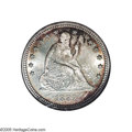 Seated Quarters: , 1889 25C MS68 NGC. One of only 12,000 business strike Quartersproduced in 1889, this Superb Gem was obviously well cared f...