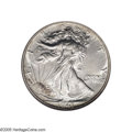 Proof Walking Liberty Half Dollars: , 1941 50C PR69 NGC. In 1941, the Philadelphia Mint coined 15,412 Proof Walking Liberty half dollars, some with Adolph Weinma...