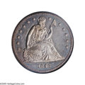 Proof Seated Dollars: , 1845 $1 PR64 NGC. Breen-5433. Recut Date. Over the years there hasbeen considerable confusion surrounding the Proof dolla...