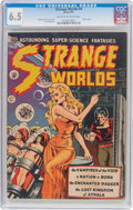 Golden Age (1938-1955):Science Fiction, Strange Worlds #4 (Avon, 1951) CGC FN+ 6.5 Cream to off-whitepages....