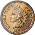 Proof Indian Cents, 1872 1C PR65 Red PCGS....