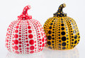 Post-War & Contemporary:Sculpture, Yayoi Kusama (b. 1929). Red and Yellow Pumpkin (twoworks), 2013. Painted cast resin, each. 4 x 3-1/4 x 3-1/4inches... (Total: 2 Items)
