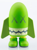 Fine Art - Sculpture, American:Contemporary (1950 to present), KAWS (b. 1974). Blitz (Green), 2004. Painted cast vinyl. 6inches high (15.2 cm). Edition of 500. Stamped with artist co...