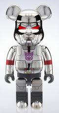General Americana, BE@RBRICK X BAIT. Transformer 1000%, 2017. Chrome cast vinyl. 32 x 16-3/4 x 14-1/4 inches (81.3 x 42.5 x 36.2 cm) (box)...